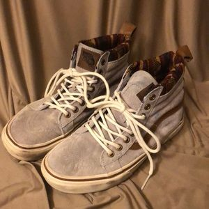 631b02b2f1890b Vans Shoes - Vans Suede Winter High Tops